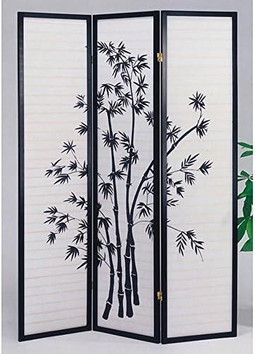 ACME 0 Yuta Wood Screen Blk Bamboo