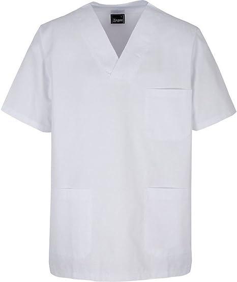 Chaqueta de uniforme para profesionales sanitarios (L): Amazon.es ...