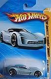 Hot Wheels 09 Corvette StingRay Concept (Light Blue) - 2010 New Models #19 1:64 Scale