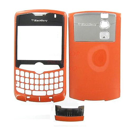 Simply Silver - New Orange Housing RIM BlackBerry 8330 Curve - Unbranded (Orange Blackberry Faceplates)
