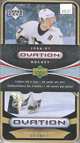 2006-07 Ovation Hockey Volume 3 50 Card Tin Cards 100-149