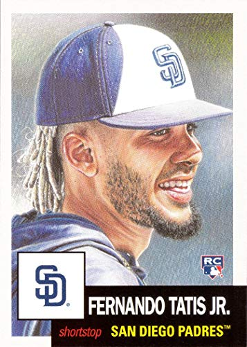 (2019 Topps Living Set Baseball #173 Fernando Tatis Jr. Rookie Card San Diego Padres - Only 10,099 made!)