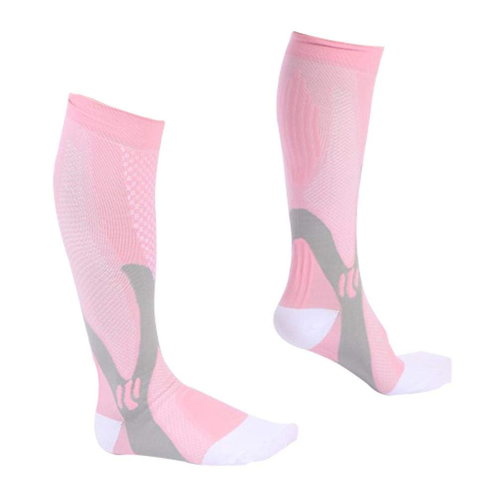 US-Pop Trading Compression Socks for Women & Men (1 Pairs) Outdoor Sports Stretch Long Socks Promote Blood Circulation for Medical, Nursing, Running, Fitness, Travel, Cycling