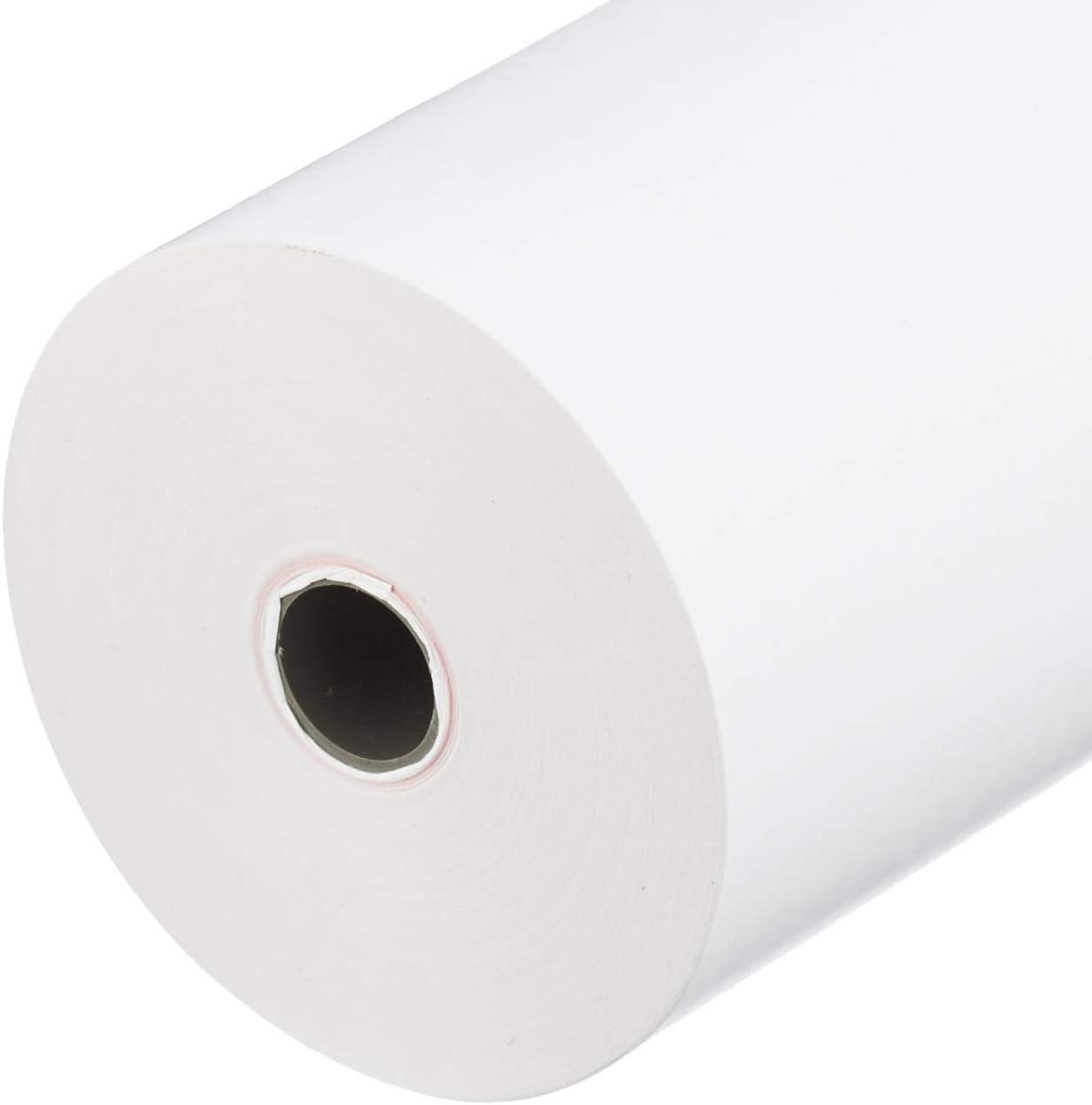 36 mm; /Ø manicotto HeiPOS rotoli di carta termica larghezza 40 m 57x30x12-10 m 25 pezzi 57 mm; /Ø rotolo 12 mm; lunghezza