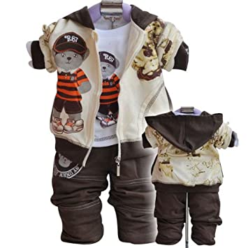 Amazon.com: Otoño invierno bebé conjuntos de ropa de bebé ...