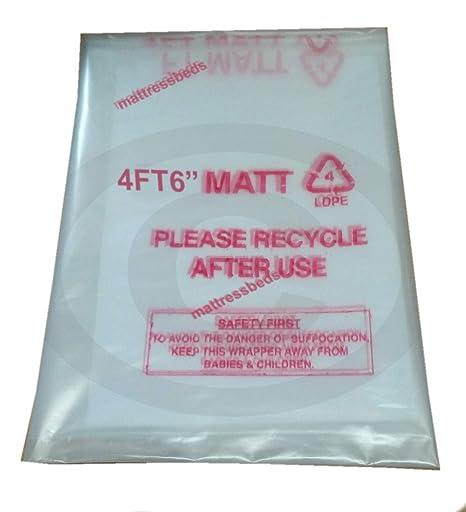 Mattress Bags Colchón Bolsa de Almacenamiento para 4 ft o 4 FT6 Doble colchones