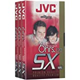 JVC T120Du3 120-Minute Vhs Video Tape (3-Pk)