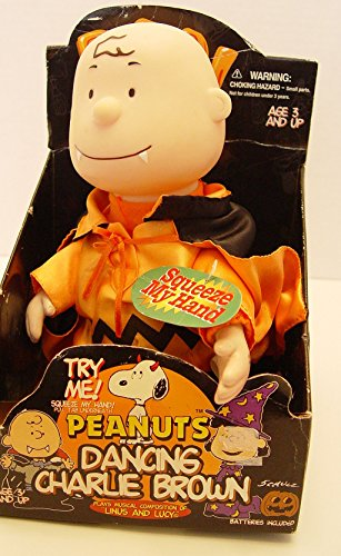 Peanuts Charlie Brown Vampire Halloween Musical Dancing Doll