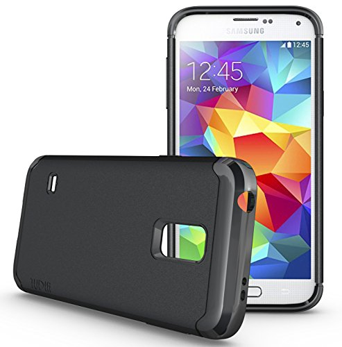 TUDIA LITE TPU Bumper Protective Case for Samsung Galaxy S5 Mini For S5 Mini Version ONLY (Black)