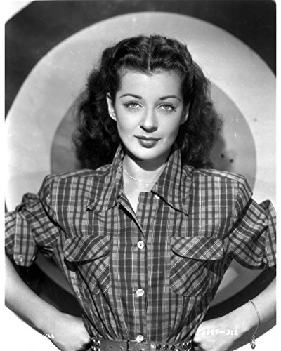 Globe Photos ArtPrints Gail Russell Posed in Checkered for sale  Delivered anywhere in USA