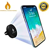 Infernal Innovations Magnetic Car Air Vent Phone Mount and Smartphone Stand | For iPhone X, 8, 7 and Plus | Google Pixel 2 | Samsung Galaxy Note S8, S7 | OnePlus 5