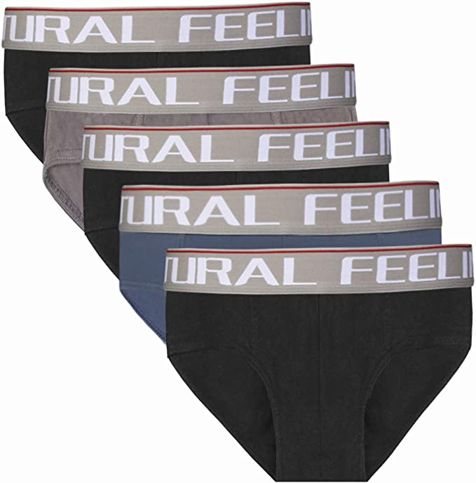 Natural Feelings Slip Calzoncillos de Hombre Cómoda y Ultra Suave Algodón Elástic Slip Hombre: Amazon.es: Ropa y accesorios