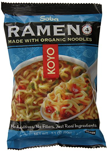KOYO Soba Ramen Made with Organic Noodles, 2.1 Ounce (Pack of 12) by Koyo