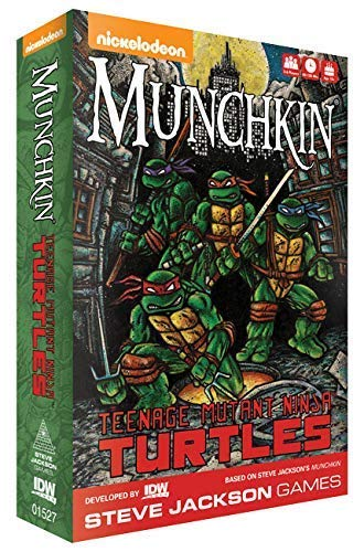 IDW Games Teenage Mutant Ninja Turtles Munchkin Card Game
