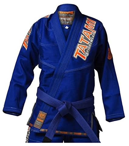Amazon.com: Tatami Fightwear Ladies estilo 4.0 BJJ Gi – Azul ...