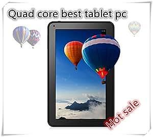 ARBUYSHOP 10 pulgadas 10.1 Quad core Tablet PC Allwinner A33 tableta Android 4.4 1G 8G / 16G 1024 * 600 WIFI Bluetooth soporte de vídeo 4KSBlueRay 3D, 8G añadir caja del teclado