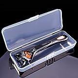 EORTA 5 Pack Plastic Razor Cases Portable Shaving