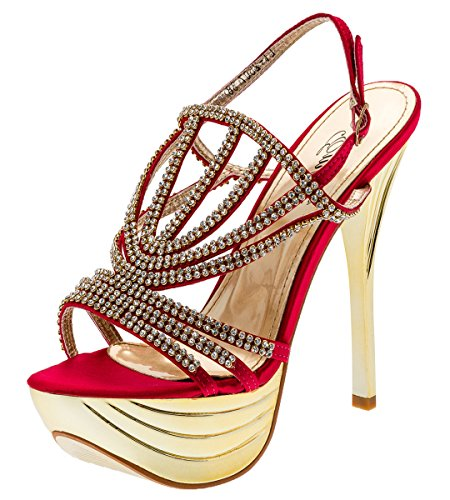 Shayenne - Plataforma Mujer Rojo