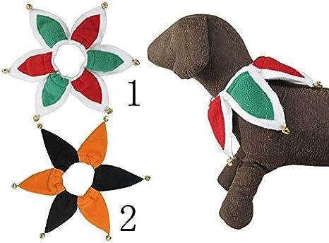 Mascota Cuello Disfraz De Bufón perro gatos collar con campanas ...