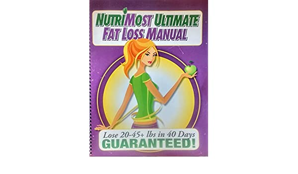 Nutrimost Ultimate Fat Loss Manual A Complete Enhanced Advanced