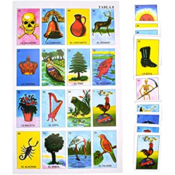 photograph regarding Loteria Cards Printable named : Put on Clemente Mexican Jumbo Loteria Fixed, Deck of