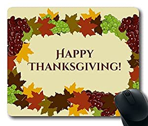 Thanksgiving Design Masterpiece Limited Design Oblong Mouse Pad by Cases & Mousepads by runtopwell