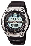 CASIO watch standard SPORTS GEAR tide graph moon data AQW-100-1AJF mens watch