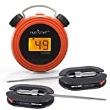 Best Dual Probe Thermometers - NutriChef Smart Bluetooth BBQ Grill Thermometer w/Digital Display Review