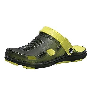 91188a0da207 Amazon.com  DENER Men Summer Hollow Jelly Sandals