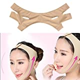 Face Slimming Mask, Beauty Neck Mask Face Lift Up Thin Shape Face Line Reduce Double Chin Bandage Suit for Woman and Man(S)