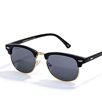 QZHE Gafas de sol Gafas Redondas Espejo Polarizado Gafas De ...