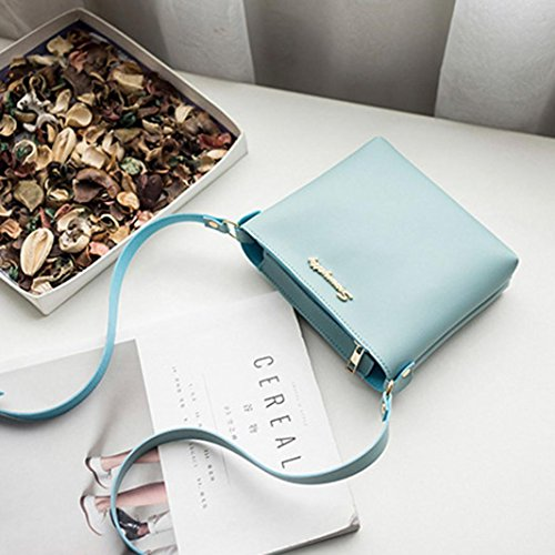Blue Shoulder Messenger Fashion Bag Women Phone Bag Bag Clearance Crossbody Coin Purse Bag IU711wq
