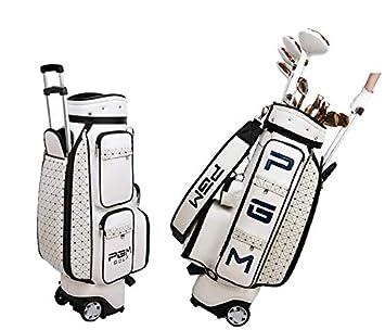 PGM mujeres con ruedas para palos de golf bolsa de ...