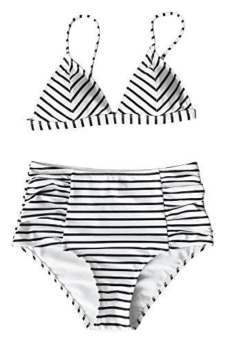 Cupshe Fashion Pattern High waisted Swimwear