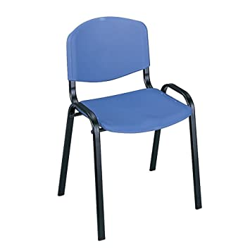 safco products 4185bu contour stacking chairs blue wblack frame 4carton