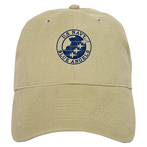 CafePress U.S. Navy Blue Angels Circle Baseball Cap with Adjustable Closure, Unique Printed Baseball Hat