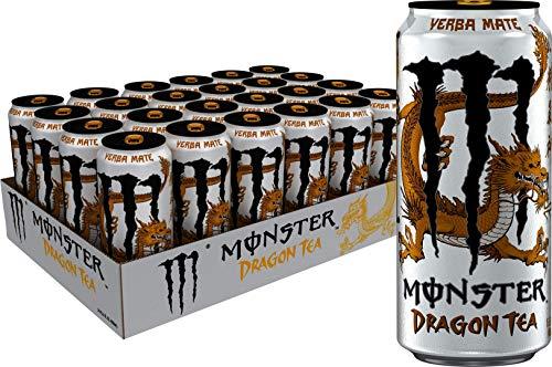(Monster Energy Dragon Tea, Yerba Mate, 15.5 oz (Pack of 24))