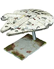 Save on Bandai Star Wars 1/144 Millenium Falcon Model Kit. Discount applied in price displayed.