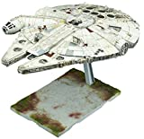 #2: Bandai Hobby 1/144 Millennium Falcon Star Wars: the Last Jedi Model Building Kit