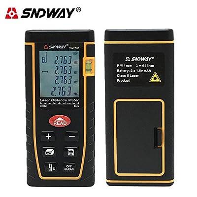 SNDWAY Measurement, Professional Measure Multi Measurement Modes Portable Handle Tool