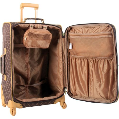 Pierre Cardin Signature Spinner Four Piece Luggage Set in the UAE ...