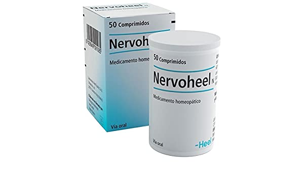 Amazon.com: Nervoheel N Heel/ Complex homeopathic medicine for oral use 50 tabs: Health & Personal Care