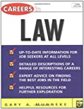 Careers in Law, Gary Munneke, 0071411453