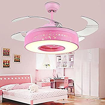 Tipton Light Ceiling Fans 42 Inch 4 Retractable Blades LED Ceiling ...