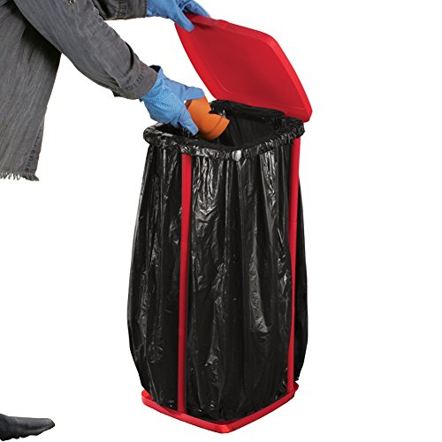 Portable Trash Bag Holder Lid