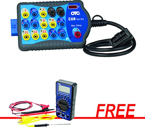 OTC-3415M - CAN Test Box with FREE 55 Series Digital Multimeter by Accurate Research, Inc