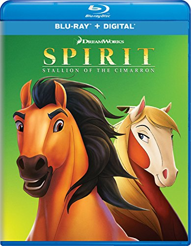 Spirit: Stallion of the Cimarron [Blu-ray] -