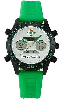 Reloj Real Betis Balompié. Elegante único y Exclusivo: Amazon.es: Relojes