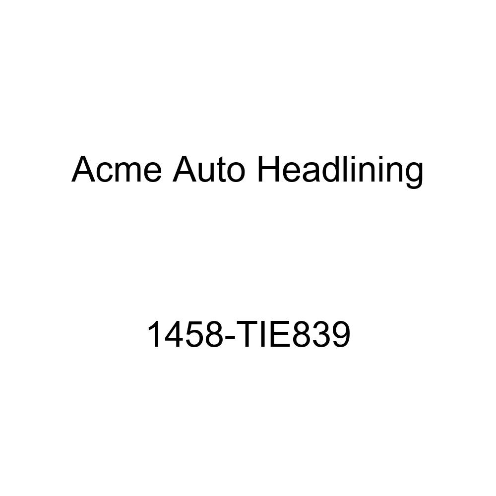 1956 Pontiac Catalina 2 Door Hard Top 6 Bows, 3 Chrome Acme Auto Headlining 1458-TIE839 Metallic Blue Replacement Headliner