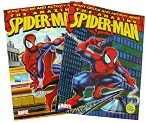 Spiderman Giant Color And Activity Book